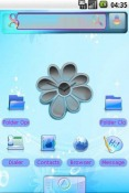 Flower Android Mobile Phone Theme