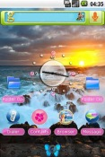 Hawaiian Sunrise Theme for QMobile NOIR A10