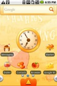 Love Thanksgiving Android Mobile Phone Theme