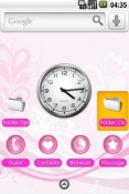 Pink Android Mobile Phone Theme