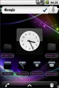 Purple Black Android Mobile Phone Theme