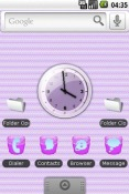 Purple Mint Android Mobile Phone Theme
