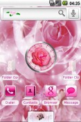 Rose Android Mobile Phone Theme