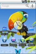 Toucan Android Mobile Phone Theme