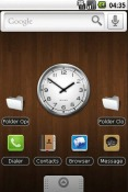 Wood Theme for Sony Ericsson Xperia X10