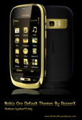 Nokia Oro Dark Light Symbian Mobile Phone Theme