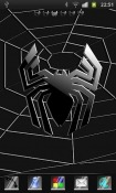 Black Spider Go Launcher Android Mobile Phone Theme