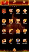 Firework Go Launcher Android Mobile Phone Theme