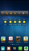 M lucia Go Launcher Android Mobile Phone Theme