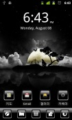 S Black3 Go Launcher Android Mobile Phone Theme