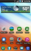 Stitched Go Launcher Android Mobile Phone Theme