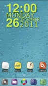 Summer Fruits Go Launcher Android Mobile Phone Theme
