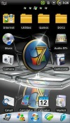 Windows 7 Go Launcher Android Mobile Phone Theme
