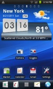 Xperia Go Launcher Android Mobile Phone Theme