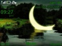 Moon Animated Theme for Nokia Asha 205