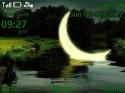 Moon Animated Nokia Asha 200 Theme