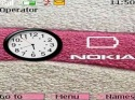 Nokia Clock Theme for Nokia Asha 205