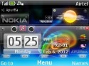 Ultra-techno Live Theme for Nokia Asha 210