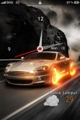 Cars Lockscreen iOS Mobile Phone Theme