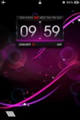 Purple iOS Mobile Phone Theme