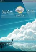 Clouds iOS Mobile Phone Theme