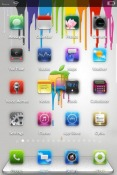 Apple Chromatic iOS Mobile Phone Theme