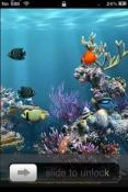 Aquarium iOS Mobile Phone Theme