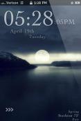 Moonlight iOS Mobile Phone Theme