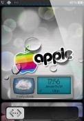 iRainbow Drop Apple iPad Wi-Fi Theme