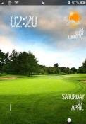 Golf Slider Apple iPhone Theme
