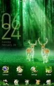Forest GO Launcher EX Android Mobile Phone Theme