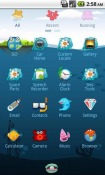 Ocean GO Launcher EX Android Mobile Phone Theme