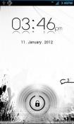Lock FX White Go Locker Android Mobile Phone Theme