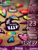 Love Colors S40 Mobile Phone Theme