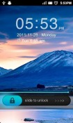 Simple Right GO Locker Android Mobile Phone Theme
