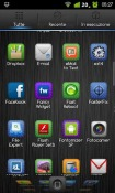 iPhone DarkSteel Lite GO Launcher EX Android Mobile Phone Theme
