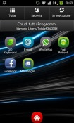 N3RO Lite GO Launcher EX Android Mobile Phone Theme