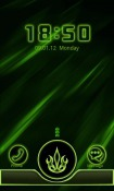 Neon Green Style Go Locker Android Mobile Phone Theme