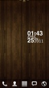 Wood GO Launcher EX Android Mobile Phone Theme