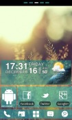 WP7blue GO Launcher EX Android Mobile Phone Theme