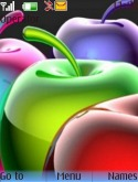 Apples Nokia 6500 slide Theme
