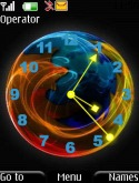 Firefox Clock S40 Mobile Phone Theme