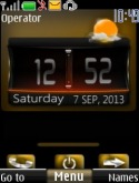 HTC Live Clock S40 Mobile Phone Theme