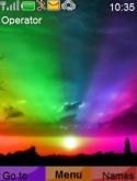 Rainbow Night S40 Mobile Phone Theme