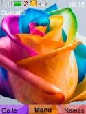 Colorful Rose Nokia 3610 fold Theme