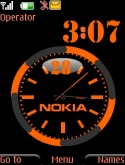 Nokia Dual Clock S40 Mobile Phone Theme