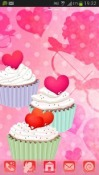 Cupcake GO Launcher EX Android Mobile Phone Theme