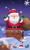 Cuddly Santa GO Launcher EX Android Mobile Phone Theme