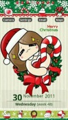 Happyxmas GO Launcher EX Theme for Samsung Galaxy Chat B5330