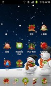 Christmas Doremi Launcher Theme for Samsung Galaxy Chat B5330